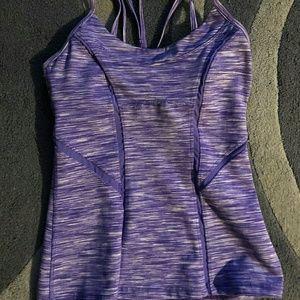 Zella purple tank